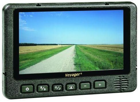 """Voyager AOM713 Rear View 7"""" LCD Monitor with 3 Camera ..."""