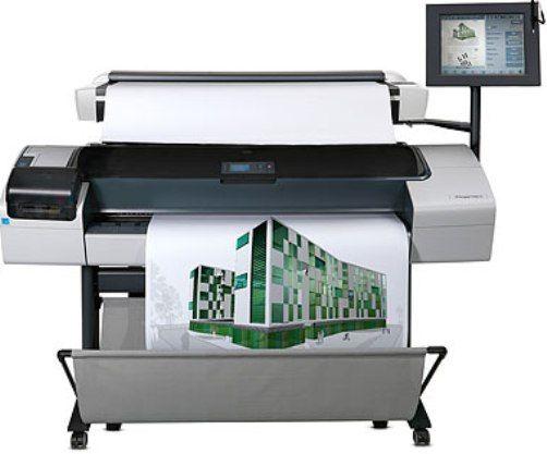 Line Optical Designjet : Hp hewlett packard cq a b k designjet t hd