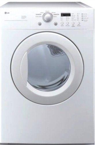 Lg Sensor Dryer ~ Lg dle w electric dryer white super capacity cu