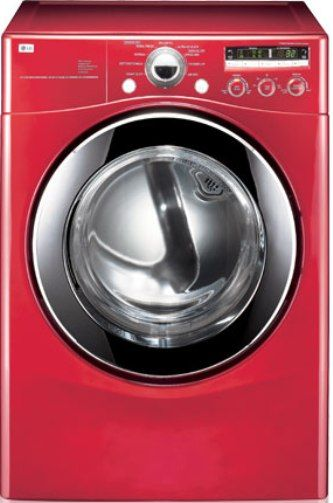 Lg Dle2301r Ultra Capacity Electric Dryer With Neverust