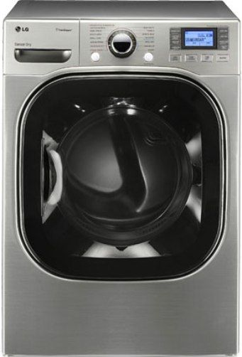 Lg Sensor Dryer ~ Lg dlgx v stylish steamdryer gas dryer graphite steel