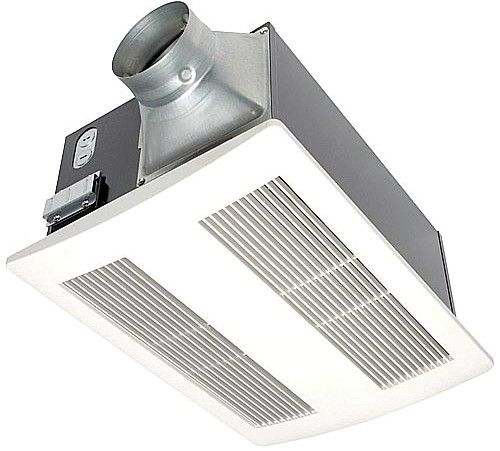 Heating Duct Fans : Panasonic fv vh whisperwarm cfm ceiling mounted fan