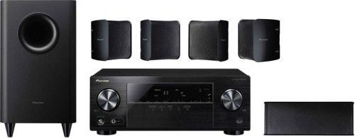 pioneer htp 072 high power 5 1 channel home theater system with 3d and 4k support system