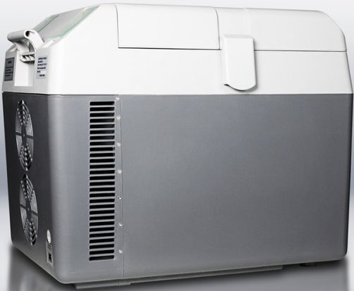 Plug In Cooler : Summit sprf portable v cooler capable of operating