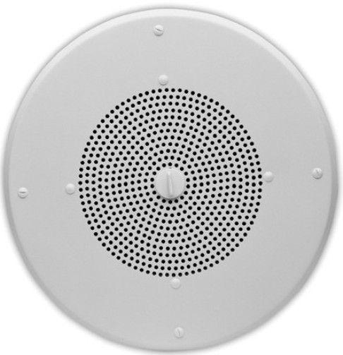 Valcom V 1020c Ceiling Speakers 8 Quot White Color 80 Hz To