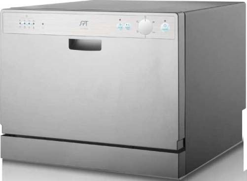 Sunpentown SD-2202S Countertop Dishwasher with Delay Start Silverware ...
